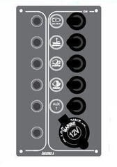 Lalizas Switch Panel SP5