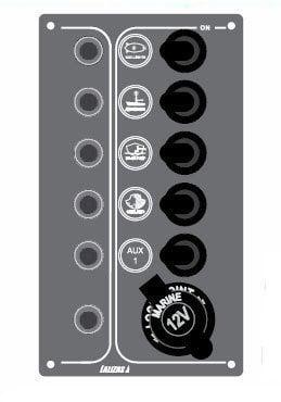 Lalizas Panel vypínačov SP5