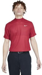 Nike Dri-Fit Tiger Woods Mens Polo Shirt Team Red/Gym Red/White L