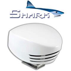 Marco SHARK Single horn, white plastic