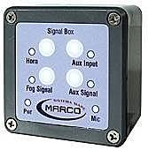 Marco SB-UV Control panel for electronic horns, IP67