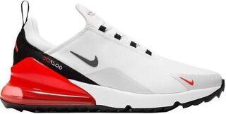 Nike Air Max 270 G Mens Golf Shoes White/Cool Grey/Neutral Grey/Black US 8,5