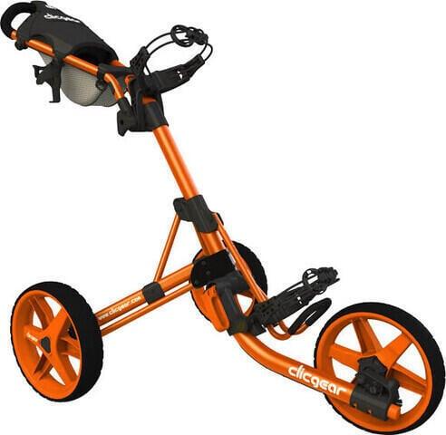 Clicgear 3.5+ Orange Golf Trolley