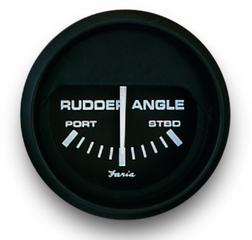 Faria Rudder Angle - Black