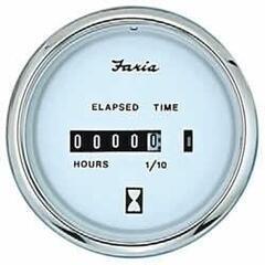 Faria Hourmeter - White
