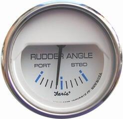 Faria Rudder Angle - White