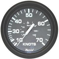 Faria Speedometer 50 MPH - Black