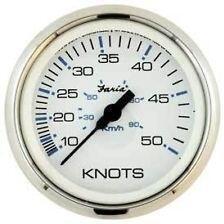 Faria Tachometer 50 MPH - biely