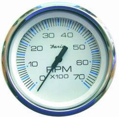 Faria Tachometer 0-7000 RPM - White