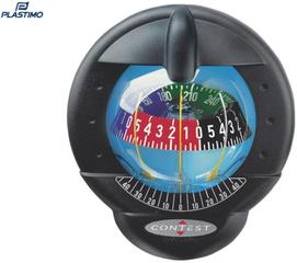 Plastimo Kompas Contest 101 čierny-červený vertical bulkhead