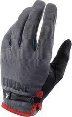 Chrome Cycling Gloves Grey/Black M