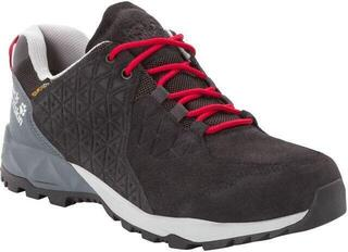 Jack Wolfskin Cascade Hike LT Texapore Low Black/Red 9