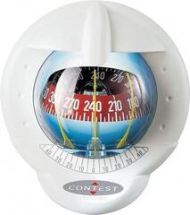 Plastimo Compass Contest 101 WHITE-RED 10-25° tilted bulkhead