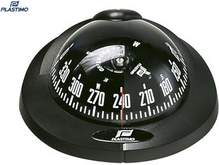 Plastimo Compass Offshore 75 Flushmount Vertical BLACK-GREY