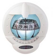 Plastimo Compass Contest 101 WHITE-WHITE Vertical Bulkhead
