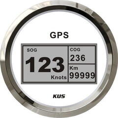 Kus GPS Digital Speedometer White