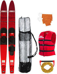Jobe Allegre Combo Waterskis Package Red - 59''- sada vodných lyží