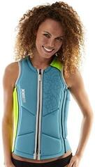 Jobe Reversible Impact Vest Lime/Teal Women - L