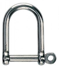 Osculati D - Shackle Stainless Steel Wide Jaw