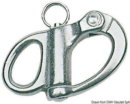 Osculati Spinakrový šekel nerez 12mm
