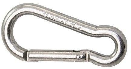 Kong Carbine Hook Stainless Steel AISI316 Key-Lock 5 mm