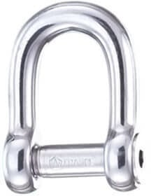 Wichard D - Shackle Stainless Steel with Inside Hexagon Pin 6 mm