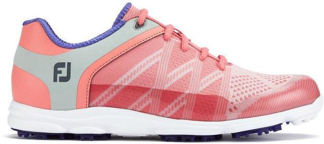 Footjoy Sport SL Womens Golf Shoes Pink/Blue US 8,5