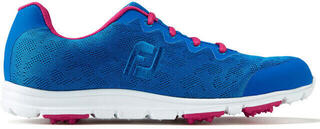 Footjoy Enjoy Női Golfcipő Cobalt/Berry