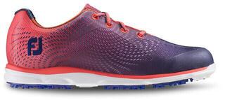 Footjoy Empower Womens Golf Shoes Papaya/Navy