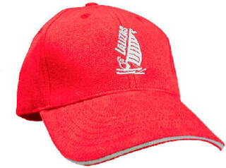 Lalizas Sailing Cap Red