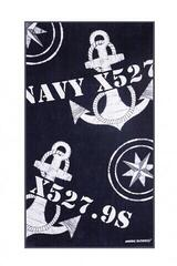 Marine Business Freestyle Navy Towel with Pillow