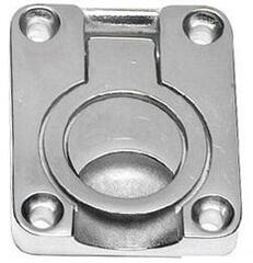 Osculati Heavy duty pull latch with ring Stainless Steel