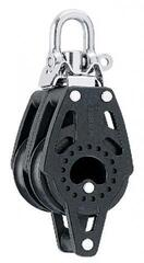 Harken 2639 40 mm Carbo Double Block - Swivel, Becket