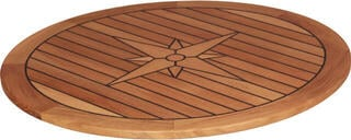 Talamex Teaková doska stola Circle 65cm