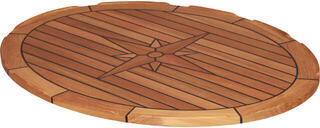 Talamex TEAK TABLETOP ELLIPS