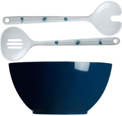 Marine Business COLUMBUS Salad bowl and salad servers