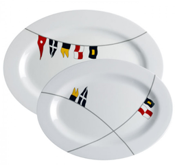 Marine Business REGATA Melamine oval serving dish set