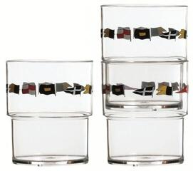 Marine Business REGATA Stackable glasses - 12 set