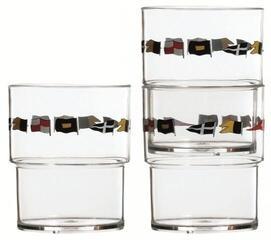 Marine Business Regata Stackable glasses - 12 Set
