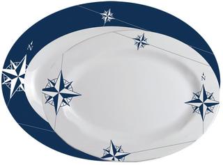 Marine Business NORTHWIND Melamine oval serving dish set