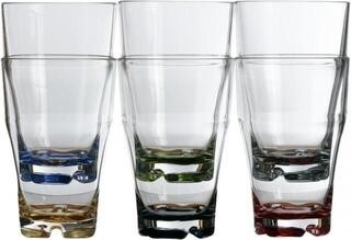 Marine Business PARTY Stackable beverage glass -coloured base set