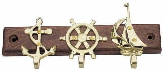 Sea-club Vešiak na kľúče kotva kormidlo plachetnica