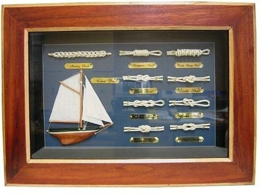 Sea-club Knot board 36x26cm