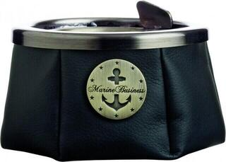 Marine Business Ashtray with lid - Premium Black - WINDPROOF