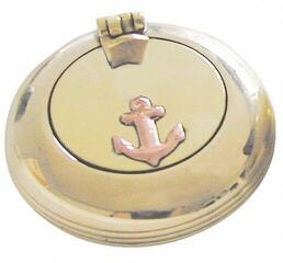 Sea-club Pocket ashtray brass 5cm