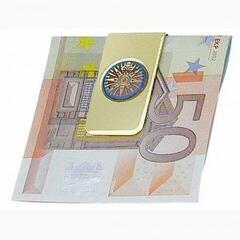Sea-club Geldscheinklammer Compass Rose - Messing