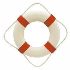 Sea-club Rettungsring weiß/rot