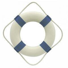 Sea-club Rettungsring weiß/blau