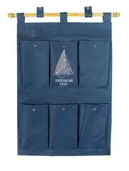 Sea-club Canvas wall hanging organizer