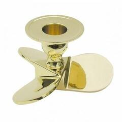 Sea-club Candlestand - Ship's propellor - brass